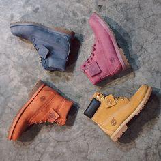 Botas Timberland Yellow Boot. Versão colorida!