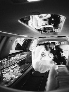 A classic option for wedding transportation, the stretch limousine combines formality and function with a sleek design and enough room for your wedding party and parents to feel like VIPs too. Wedding Day Tips, Wedding Car, Wedding Planning Tips, Dream Wedding, Summer Wedding, Diy Wedding, Wedding Ideas, Miami Wedding Venues, Luxury Wedding Venues