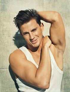 Channing Tatum... It should be illegal to be this gorgeous....... This is the kind of man where if he talked to me, I would suddenly. Have a stutter :)