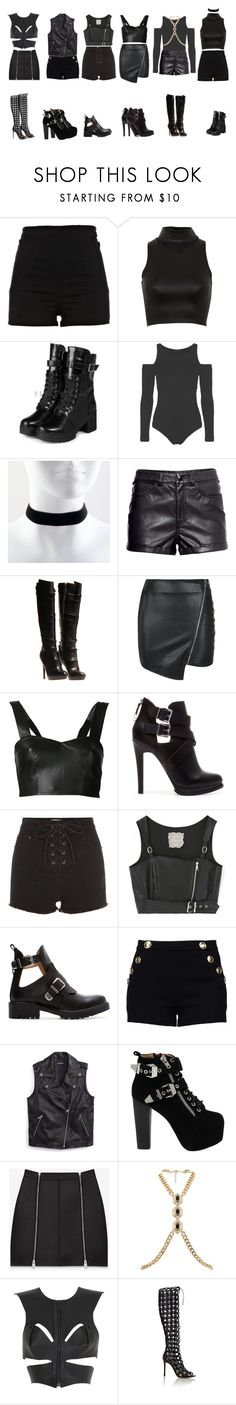 """""""DC"""" by yonce4park ❤ liked on Polyvore featuring River Island, Influence, yeswalker, H&M, Jil Sander, Parisian, Love Leather, Zara, Boutique Moschino and Tommy Hilfiger"""