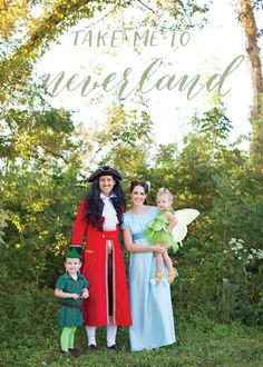 Family costume - Peter Pan
