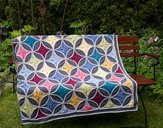 Cathedral Window Blanket by CAROcreated design