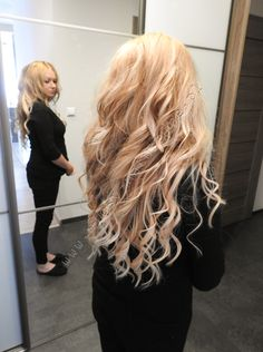100 % natural hair from http://wlosy-naturalne.pl/en/ #blonde #hair #clipin #tapeonoff #longhair #polishhair #style #classic