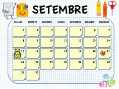 Els Nostres Moments: Calendario 2014-15