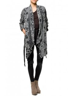 Religion Clothing Cardigan Flesh in Jet Black At Serene Order. Religion Clothing Autumn Winter 2012 Collection Now Available Online Religion Clothing, Rock Chic, All About Fashion, Modern Fashion, Knitwear, Kimono Top, Classy Women, My Style, Hair Styles