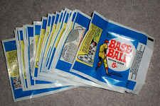 1969 Topps Baseball Wax Pack Empty Wrapper Lot of 24