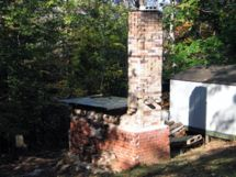 David Emmert's Manabigama wood-fired kiln, Amherst, VA