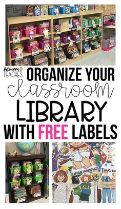 FREE labels for your classroom library! Upgrade your elementary book baskets today with character and series labels. #classroom #classroomorganization #classroomlibrary #thirdgrade