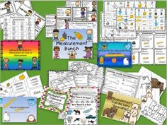Measurement Activities Bundle from Everyday Adventures on TeachersNotebook.com -  (107 pages)  - Bundle of my best measurement activities!  These are great for review, centers, or activities during your unit!