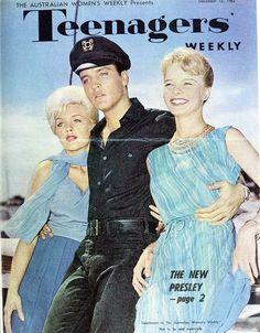 The new Elvis Presley, Teenagers' Weekly, December 1962.