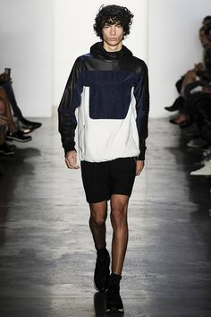 Catwalk photos and all the looks from Tim Coppens Spring/Summer 2015 Menswear New York Fashion Week