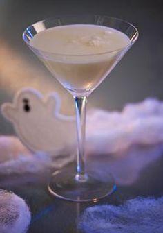 Liquefied Ghost: Your favorite flavor of vodka, vanilla simple syrup, cream, and soda.