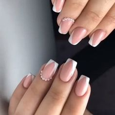 25 Pastel Pink Nail Art Ideas Make Your Style More Charming - Saggno Pastel Pink Nails, Pink Nail Colors, Cute Pink Nails, Pink Nail Art, Purple Nails, Art Nails, Perfect Nails, Gorgeous Nails, Pretty Nails
