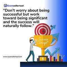 """""""Don't worry about being successful but work toward being significant and the success will naturally follow."""" Visit us at www.ecomsellertool.com  Follow us @ecomsellertool Follow us @ecomsellertool - - - - - - - - - #amazon #amazonprime #amazonfbatips #amazonsellers #amazonfbalife #amazonfbaseller #amazonfbaexpert #amazonsellersofinstagram #amazonbusiness #amazonseller #amazonfbaus #amazonproducttesters #amazonsellersclub Track Shipment, Warehouse Management, Amazon Advertising, Ecommerce Software, Amazon Fulfillment Center, Supply Chain Management, Amazon Seller, Amazon Fba, Software Development"""