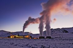 The electricity for the light is generated entirely naturally- geothermally – from hot water - at the Hellisheiði Geothermal Power Plant. This was one of the reasons for situating the artwork in Iceland.