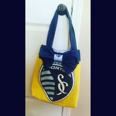 #SportingKC tote made out of an old t-shirt (via goaliegrl22 on Instagram)
