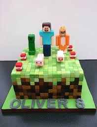 of Minecraft cakes. Minecraft Birthday Cake - T. Zombie Birthday Cakes, Homemade Birthday Cakes, Birthday Cakes For Men, Themed Birthday Cakes, 8th Birthday, Diy Minecraft Birthday Party, Minecraft Party Decorations, Minecraft Cake Designs, Minecraft Cake Pops