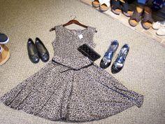 #cheetah #leopard #print #dressy #casual #fitandflare #flats #heels #dresses #clothing #boutique