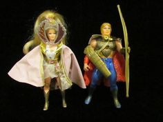 2 vintage 80's princess of power she-ra doll action figures-she-ra from $12.0