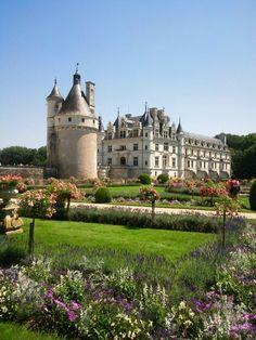 Chateau de Chnonceau, Loire FRANCE