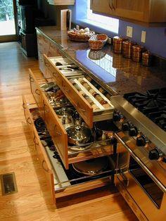 Nice kitchen.. I want it