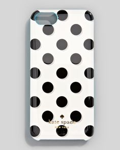 Kate Spade La Pavillion iPhone 5 case. The polka-dot pattern is so cheerful yet sophisticated enough for day or night. I can't decide on this one or the Harrison design!