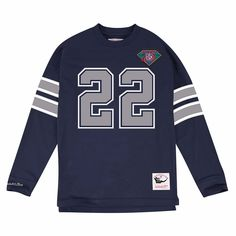 Mitchell   Ness Men s Emmitt Smith Dallas Cowboys Retro Player Name   Numer  Longsleeve T-Shirt Men - Sports Fan Shop By Lids - Macy s 13eda0a35