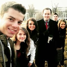 Duggars and Bates at March for Life
