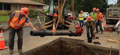 Main pipeline repairs