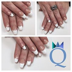 #coffinnails #ballerina #shape #acrylicnails #nails #french #silverglitter #ballerina #form #acrylnägel #nägel #french #silberglitzer #nagelstudio #möhlin #nailqueen_janine