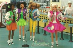 barbie and the sensations