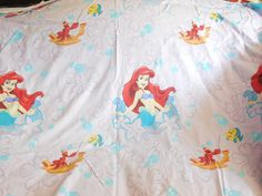 Disney Sheets Little Memrmaid Sheets Twin by Daysgonebytreasures