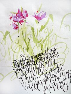 Art #Calligraphy paint-pigment