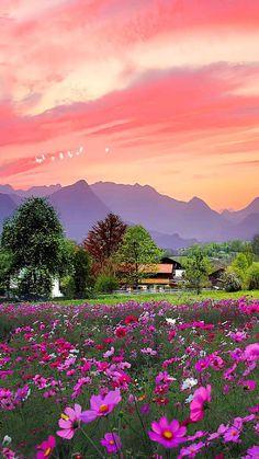 Wallpaper Nature Flowers, Beautiful Landscape Wallpaper, Beautiful Landscape Photography, Scenery Wallpaper, Beautiful Landscapes, Nature Photography, Beautiful Photos Of Nature, Amazing Nature, Beautiful Places