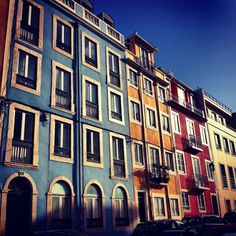 Lapa, Life Is Beautiful, Colonial, Portugal, Multi Story Building, Architecture, Lisbon, Facades, Cities