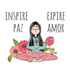Reconecte-se com sua paz interior 🌺🌸 Reconnect with your inner peace. Yoga Quotes, Words Quotes, Karma, Paz Mental, Breathing Meditation, Yoga Pictures, Yoga Pics, Yoga For Kids, Some Words