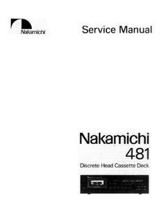 nakamichi dr 2 original service manual nakamichi service manuals rh pinterest com Nakamichi Car Audio Nakamichi Headphones