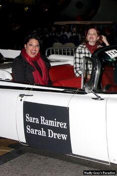 Sarah Drew, Sara Ramirez, Grey's Anatomy, Calliope Torres, Anatomy Images, Greys Anatomy Cast, Casting Pics, Best Tv Shows, Older Women