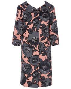 2ec434a207a1 Leona by Leona Edmiston - Cabbage Rose 50s coat Rose Jacket