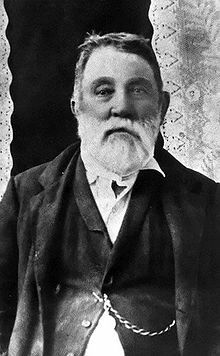 Judge Roy Bean, Law West of the Pecos.  His marriage ceremonies always ended with the pronouncement: May God have mercy on your soul.