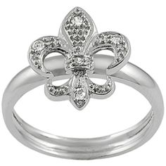 WOW!  Adorable fleur ring!!!