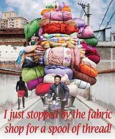 For all the sewing and quilting enthusiasts...