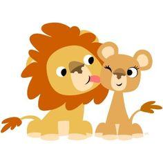 dibujos de leones para imprimir , divertidos y bonitos leones infantiles de colores para imprimir, para usarlas en manualidades infantiles, ...