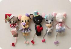 Tiny Mice Pdf Pattern