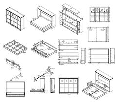 Plans To Build For Murphy Bed Pdf How Make