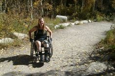 """Chloe Jennings-White, an intersex woman who has """"Body Integrity Identity Disorder."""" People with this rare condition feel that certain """"limbs are not meant to be a part of their body."""" They """"often reject all interventions ... short of amputation or paralysis."""" Mark Malan, a sexologist who works with her, believes it's about identity.  People with BIID feel, """"'If I was disabled in some way or lost a limb, that would be my ideal body image.'"""" Caption from link"""