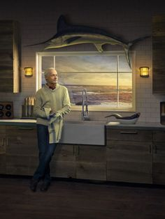 """american standard dxv advertising """"The Old Man and the Sea"""""""