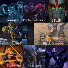 I actually think Knock Out is a bit more of a Loki, considering he was bad through most of the show then went yep, I'm joining the Autobots Transformers Memes, Transformers Bumblebee, Transformer 1, Optimus Prime, Sound Waves, Mass Effect, Just In Case, Cool Pictures, Avengers
