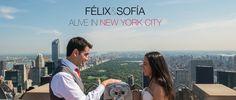 Félix & Sofía :: Alive in New York City Postboda