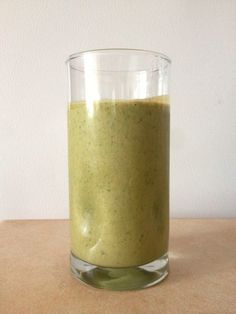 My Favorite Green Protein Drink!  #greenisgood #leanmoms #greensmoothie